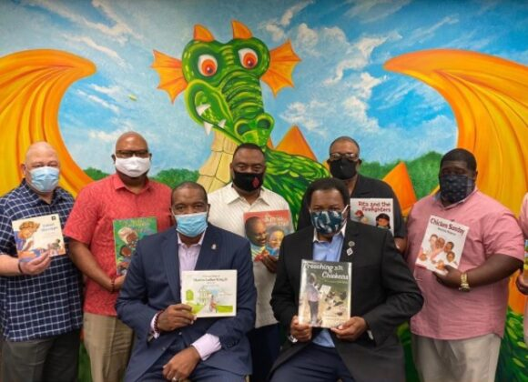 TKF Board Members Read Children's Books to Advance Literacy and Inspire a Life-Long Love of Reading