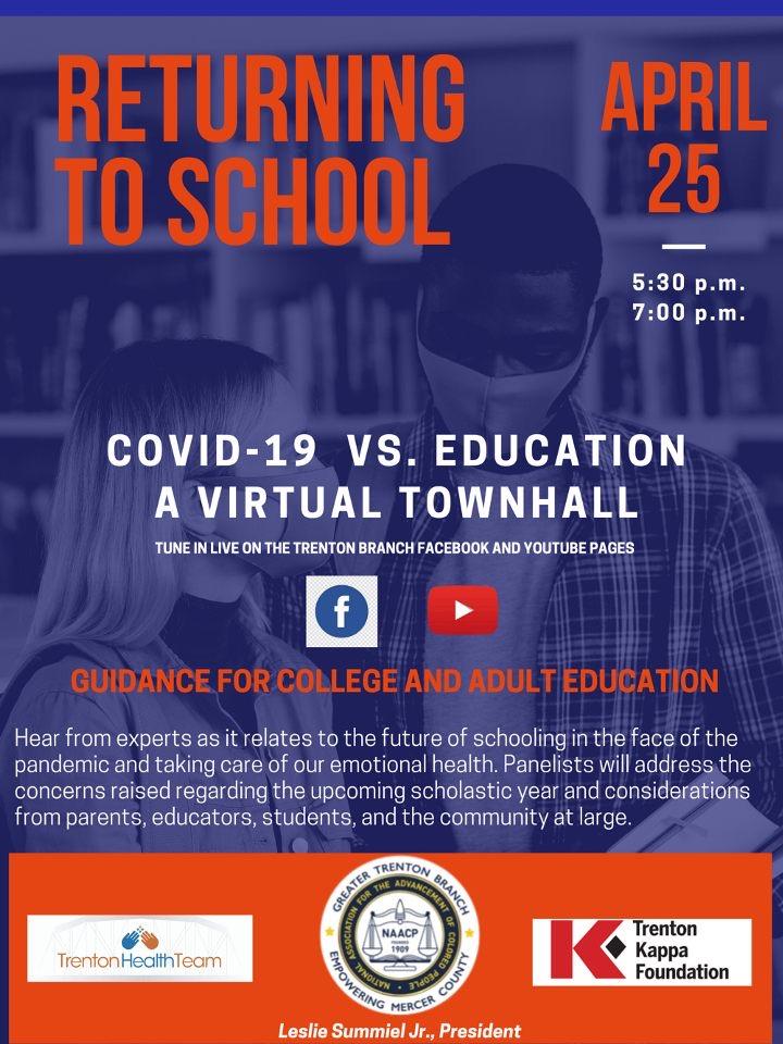 COVID-19 vs. Education: A Virtual Town Hall